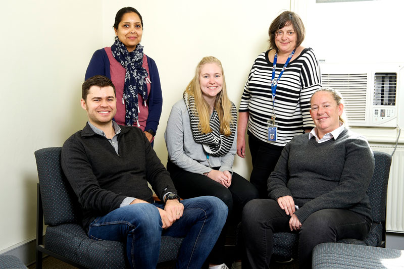Five people with a career at VincentCare