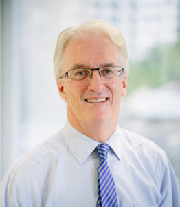Vincentcare Board Chair Tony Nicholson